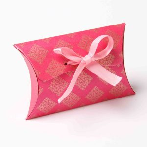 Pillow Favor Box No 9 - Pink-0