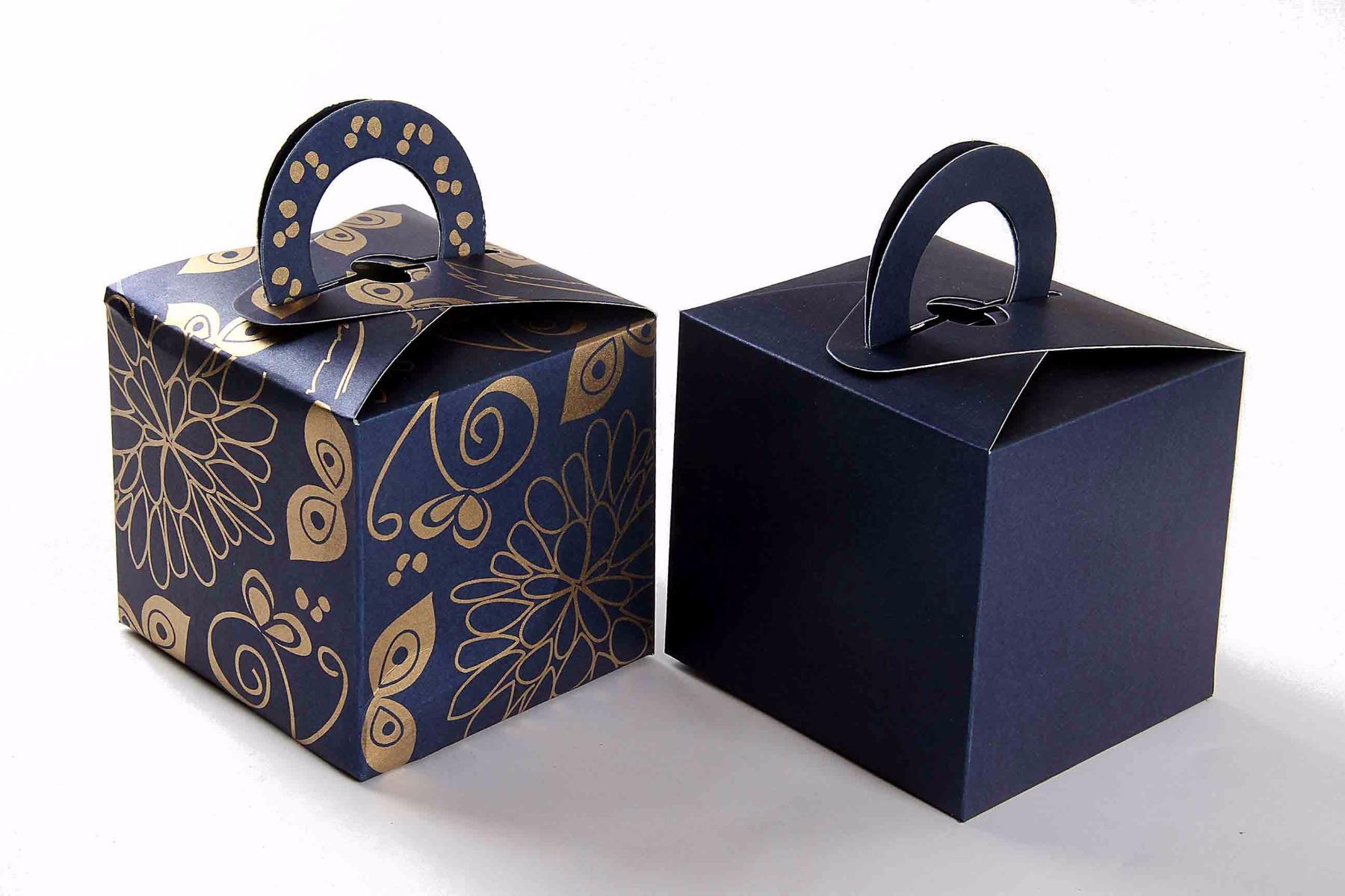 Square Favor Box 2 - Royal Blue-0