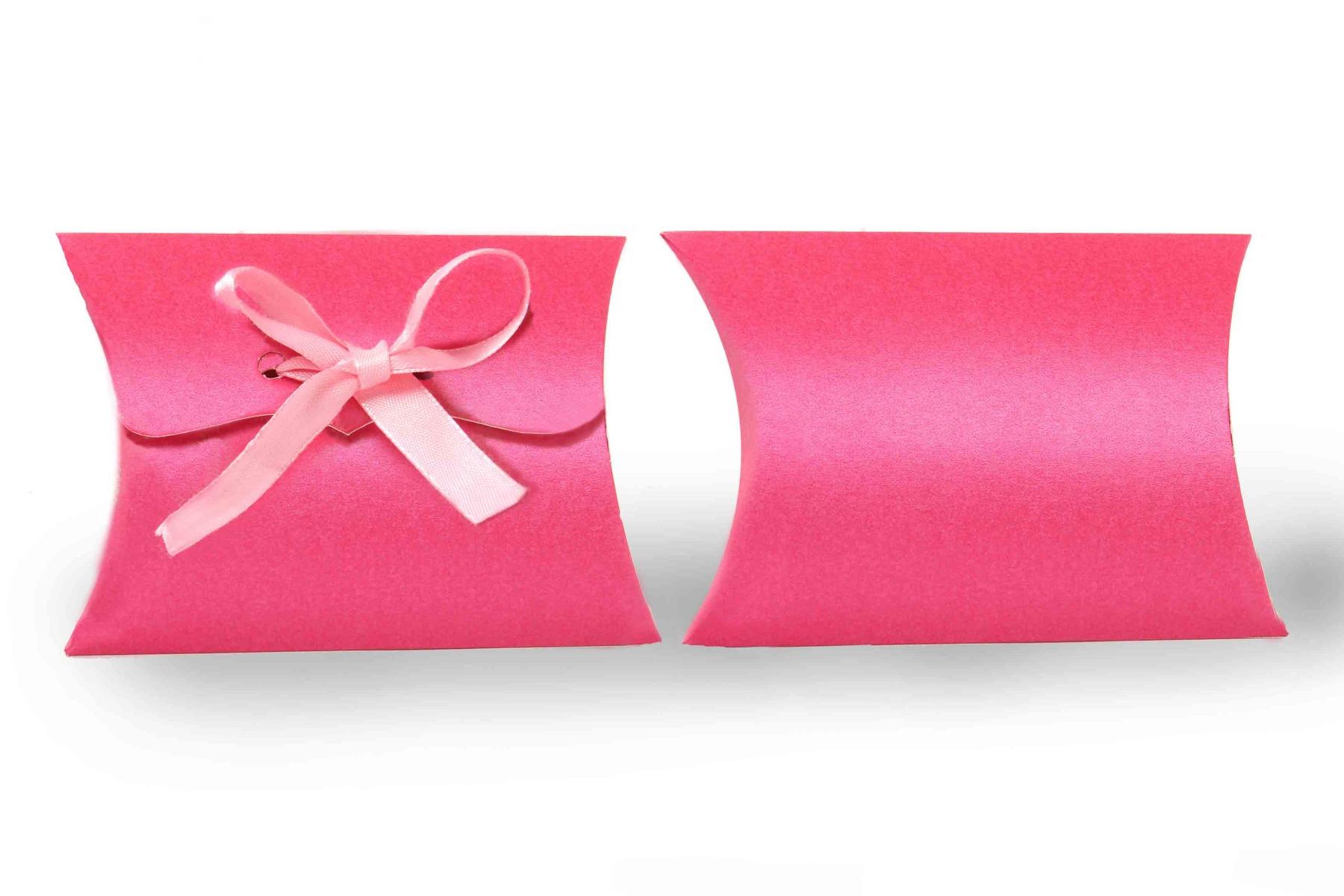 Pillow Favor Box No 9 - Pink-8639