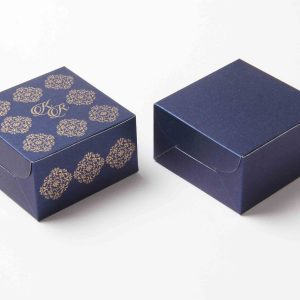 Small Size Cube Box No 6 - Royal Blue-0