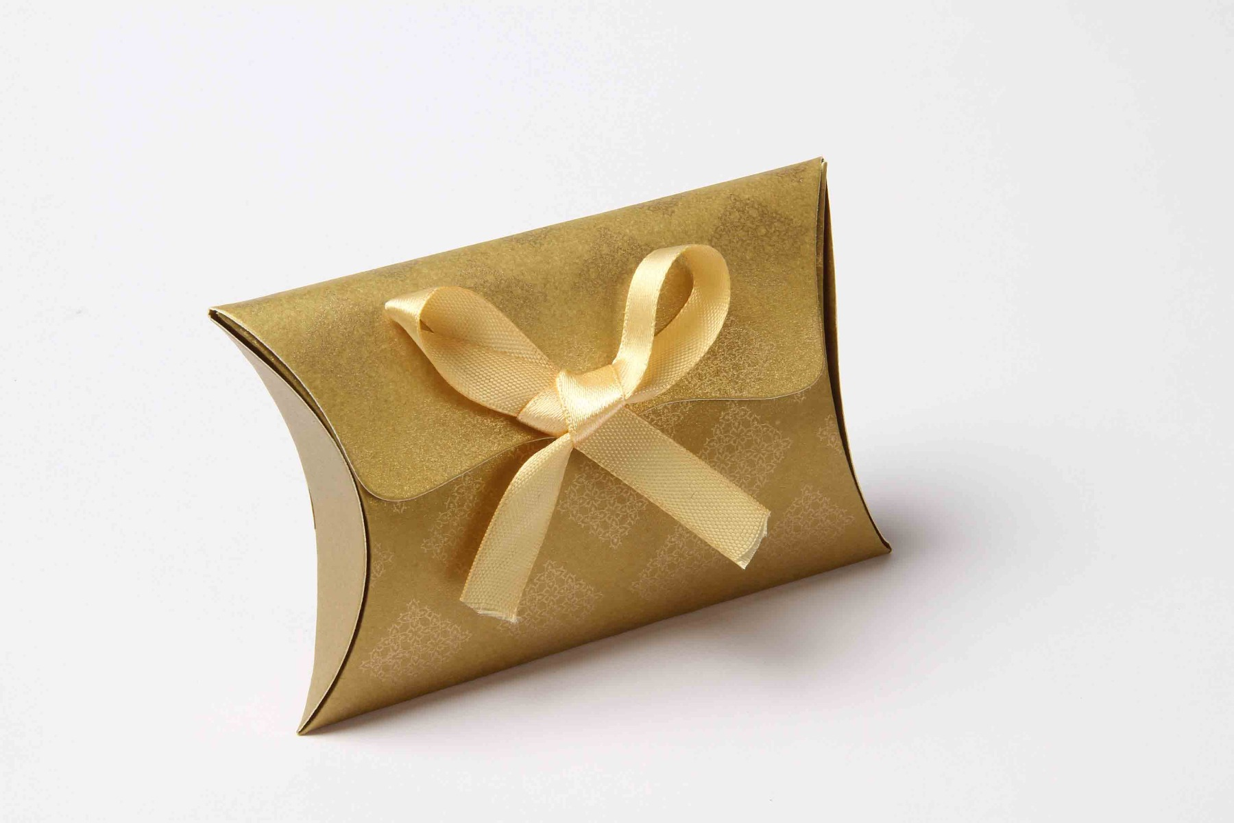 Pillow Favor Box No 9 - Golden-8680