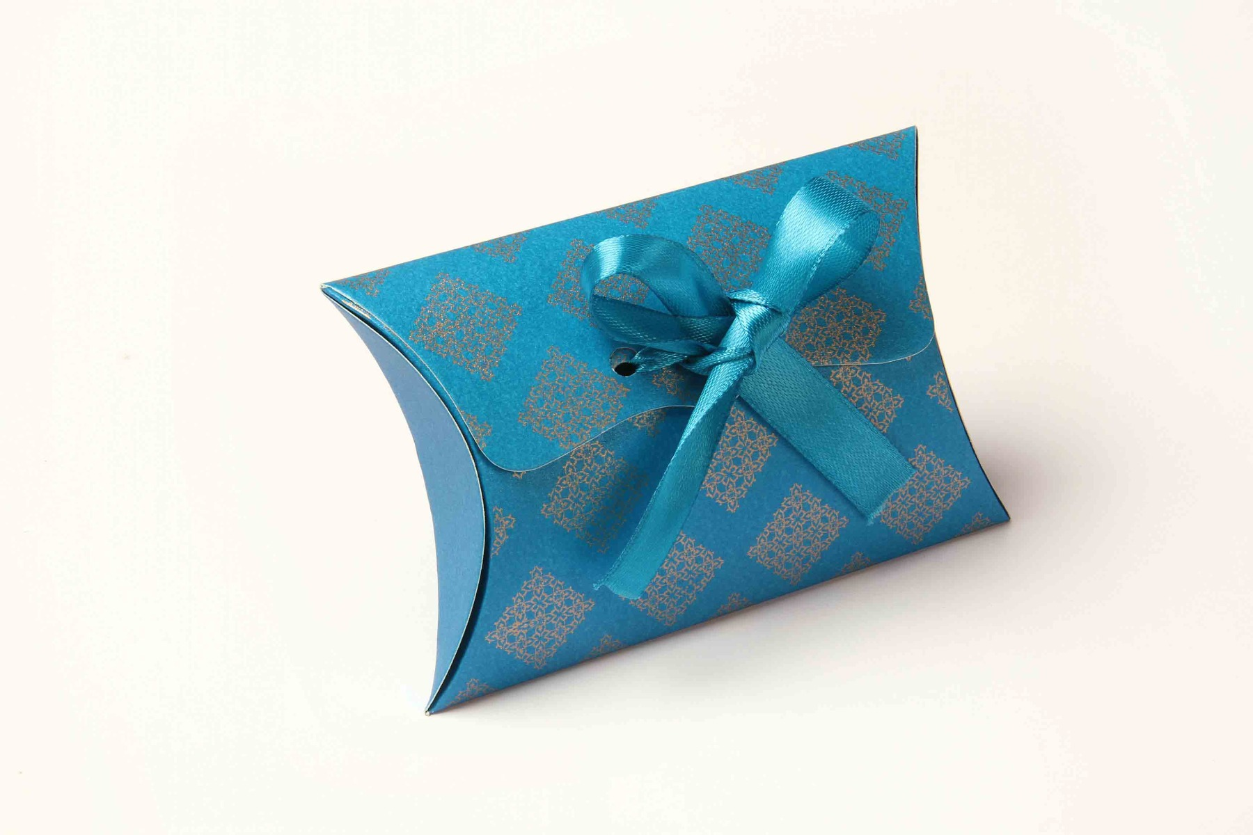 Pillow Favor Box No 9 - Firoze Blue-8657
