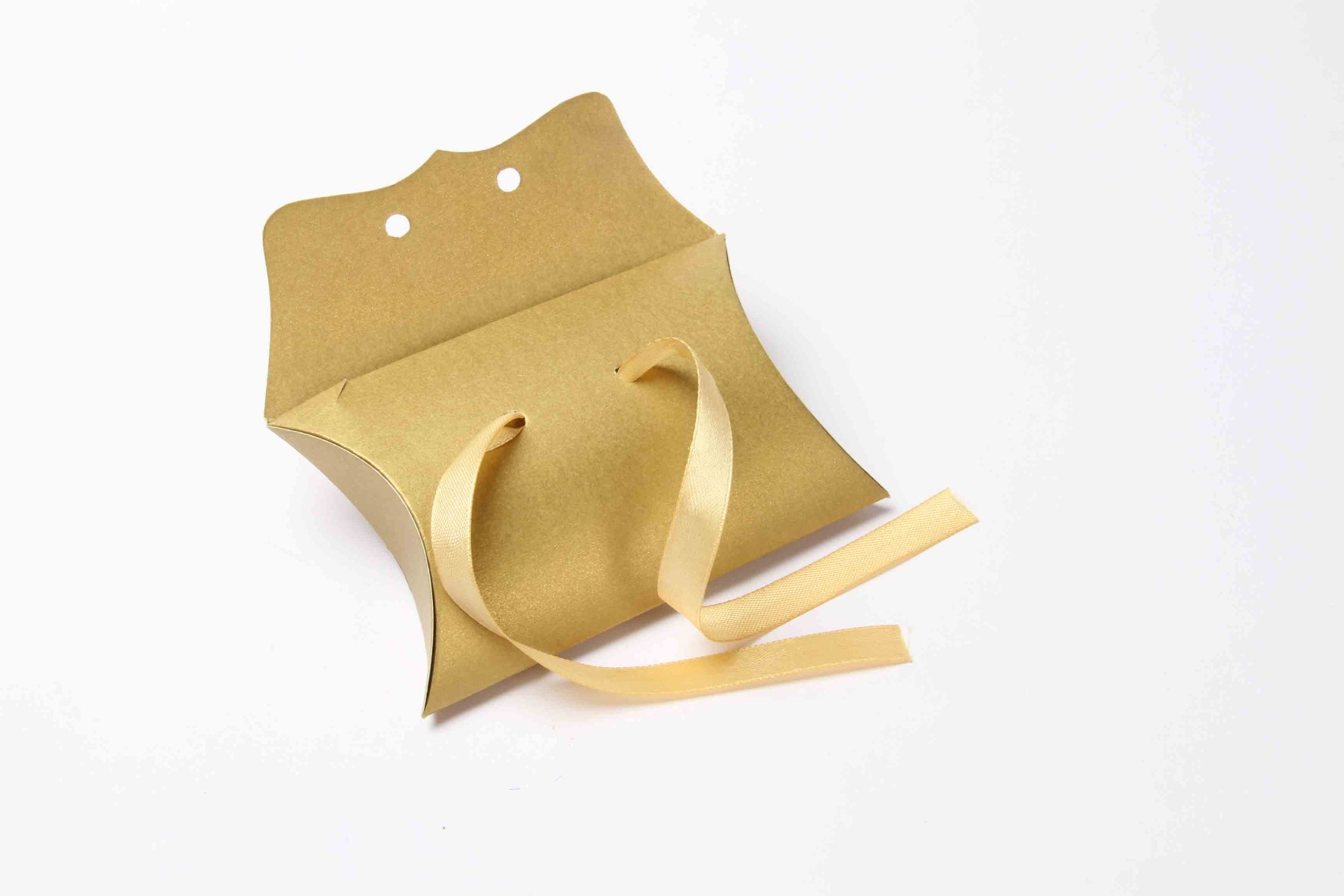 Pillow Favor Box No 9 - Golden-8685