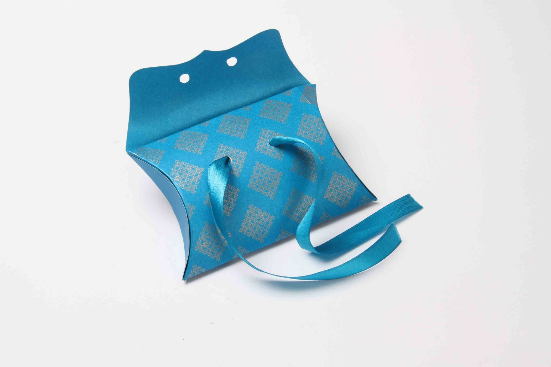 Pillow Favor Box No 9 - Firoze Blue-8658