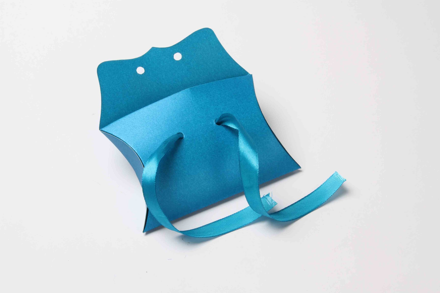 Pillow Favor Box No 9 - Firoze Blue-8661