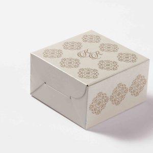 Small Size Cube Box No 6 - White-0