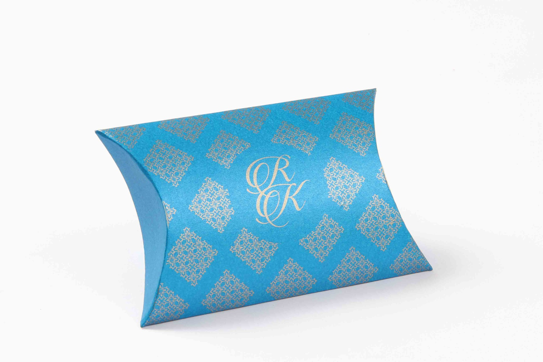 Pillow Favor Box No 9 - Firoze Blue-0
