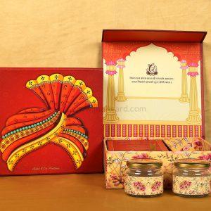 Traditional Boxed Wedding Invitation Card Design-0