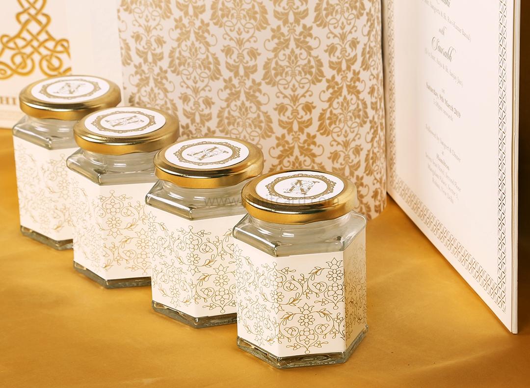 Exclusive Wishing Tree Design Boxed Indian Wedding Invitation-9271