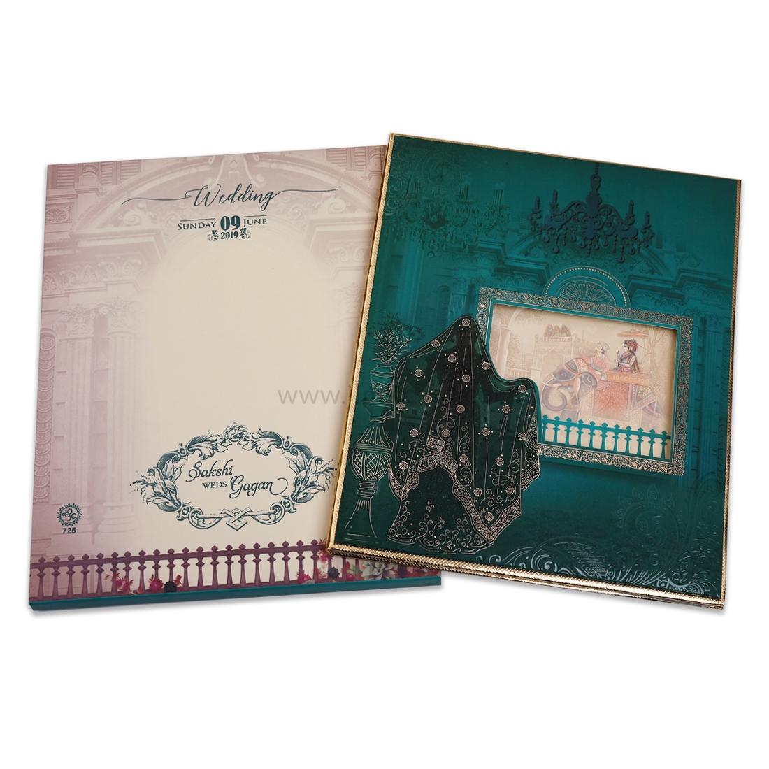 Uniquely Design Royal and Exclusive Wedding Invitation Card.-0